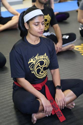Preethy profile photo budokon yoga yogi teacher team columbia maryland baltimore dc dmv laurel elicott city hanover elkridge budobolly bollywood fitness